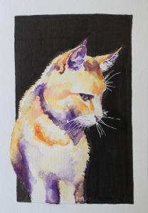 Erik purple watercolour